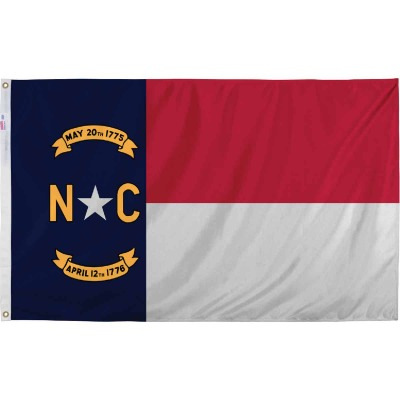 Valley Forge 3 Ft. x 5 Ft. Nylon North Carolina State Flag