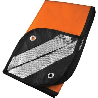 UST 60 In. x 83 In. Polyester Waterproof Emergency Blanket