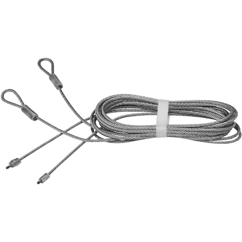 Prime-Line 1/8 In. Galvanized Carbon Steel Torsion Spring Cable Image 1