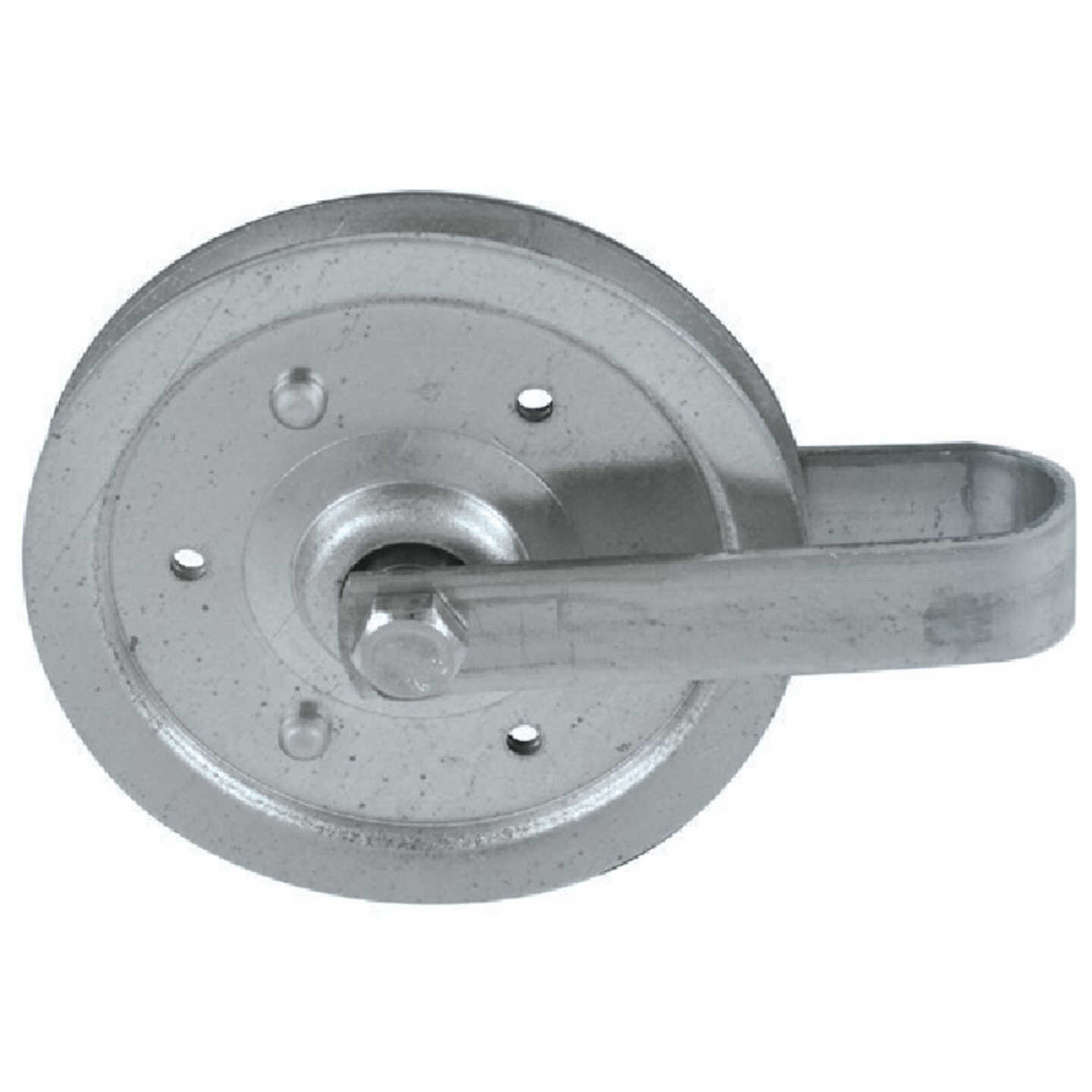 Prime-Line 4 In. Pulley w/Strap and Axle Bolt Image 3