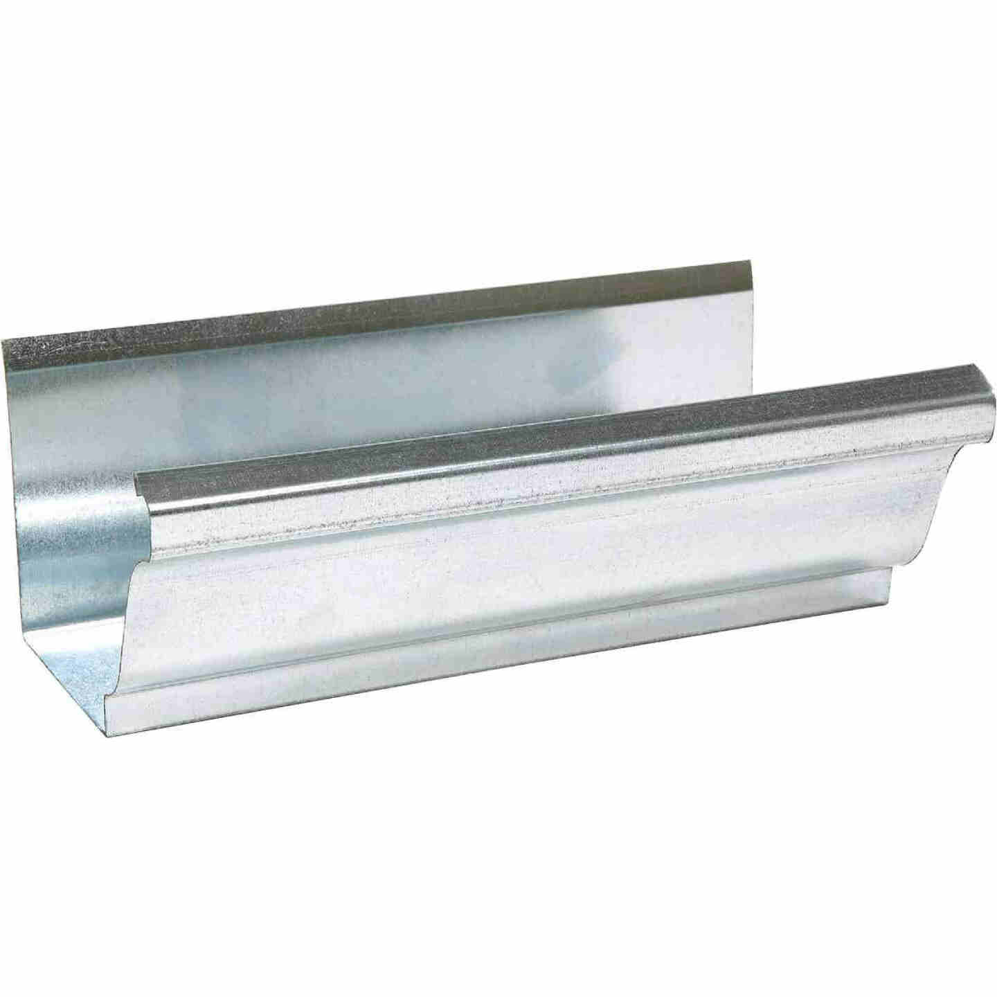 Amerimax 5 In. x 10 Ft. K-Style Galvanized Stee lGutter Image 1