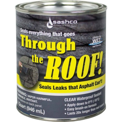 Through The Roof! 1 Qt. VOC Cement & Patching Sealant