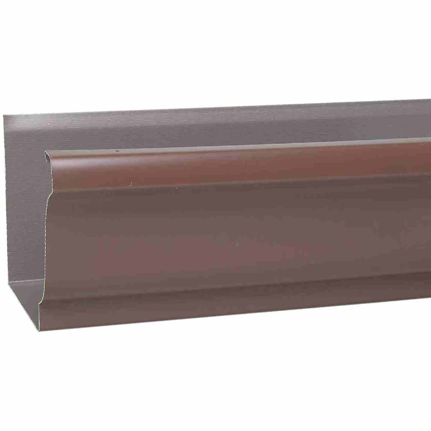 Amerimax 5 In. x 10 Ft. K-Style Brown Galvanized Gutter Image 1
