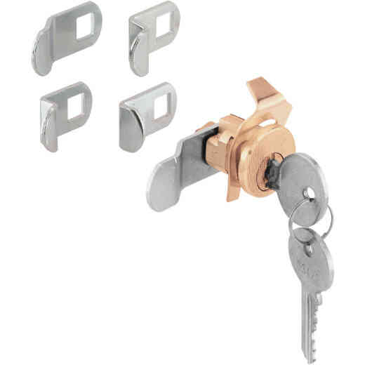 Defender Security Brass Multi-Purpose Mailbox Lock