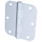Ultra Hardware 3-1/2 In. x 5/8 In. Radius White Door Hinge (3-Pack) Image 1