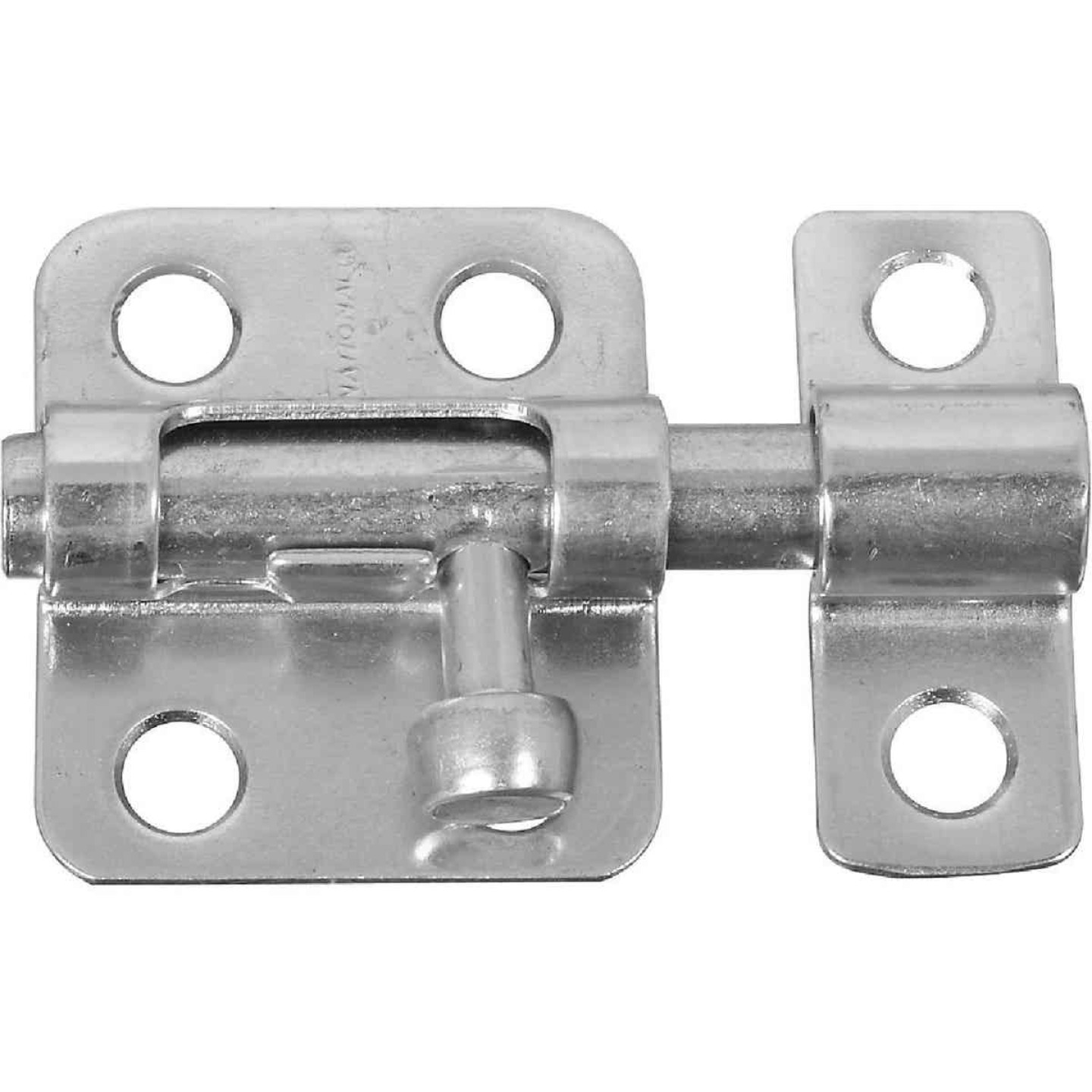 National 2 In. Zinc Cellar Window Barrel Bolt Image 1