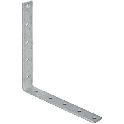 National Catalog 115 10 In. x 1-1/4 In. Galvanized Corner Brace