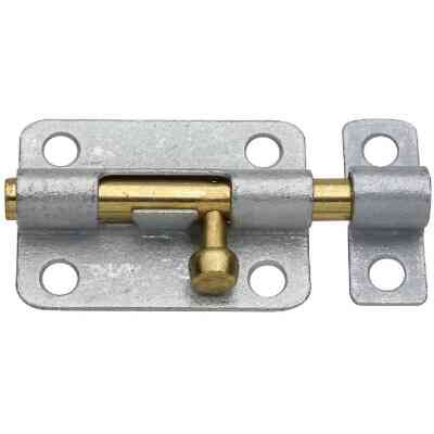 National 3 In. Galvanized Steel Door Barrel Bolt
