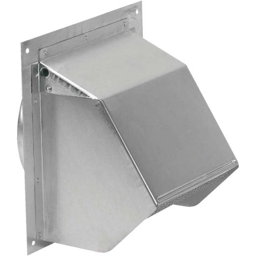 Broan-Nutone 6 In. Mill Finish Aluminum Wall Vent Cap