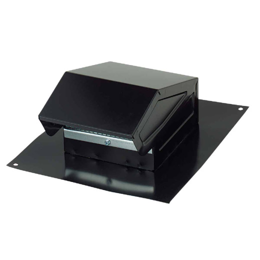 Broan-Nutone 3 In. or 4 In. Black Steel Roof Vent Cap