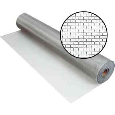 Phifer 48 In. x 100 Ft. Brite Aluminum Screen