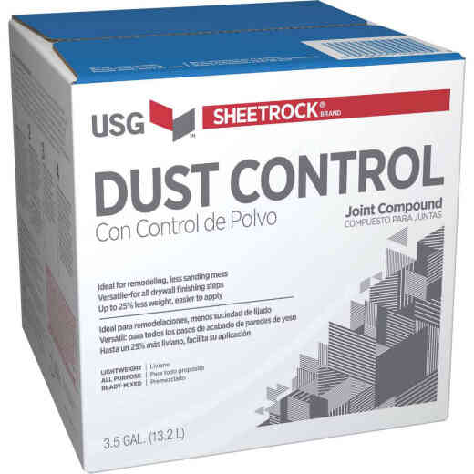 Sheetrock 3.5 Gal. Box Pre-Mixed Lightweight All-Purpose Dust Control Drywall Joint Compound