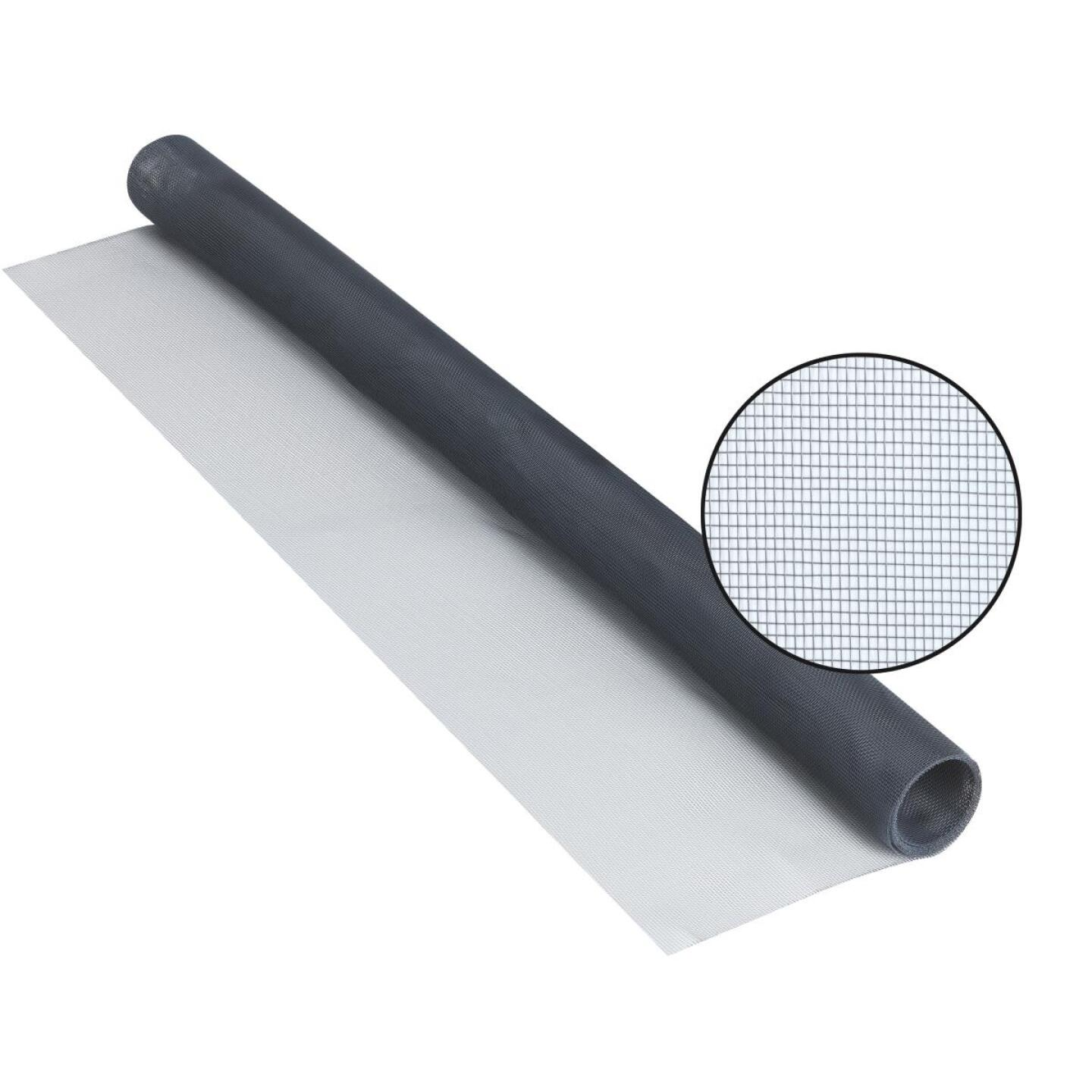 Phifer 48 In. x 84 In. Charcoal Aluminum Screen Ready Rolls Image 1