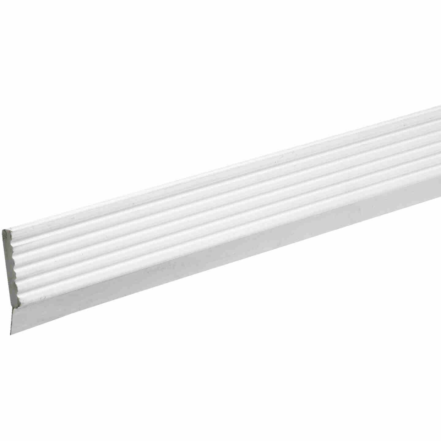 Do it 3 In. x 9 Ft. White Vinyl Top and Side Garage Door Seal with Sweep Image 1