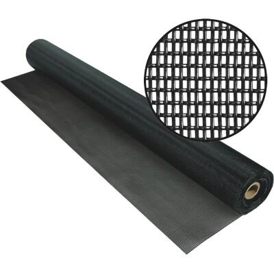 Phifer PetScreen 48 In. x 100 Ft. Black Pet-Resistant Screening