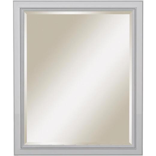 Sunny Wood Riley 30 In. W x 36 In. H Beveled Framed Mirror
