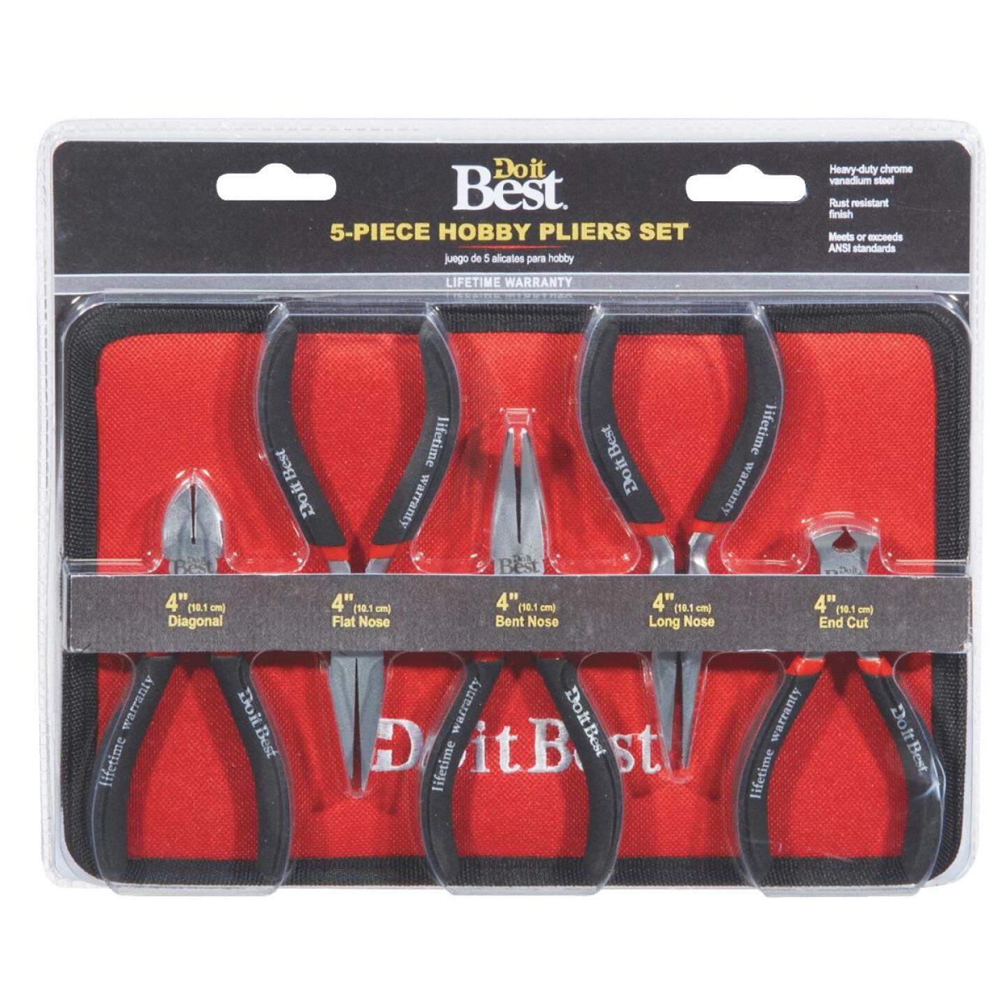 Do it Best Hobby Pliers Set (5 Piece) Image 2