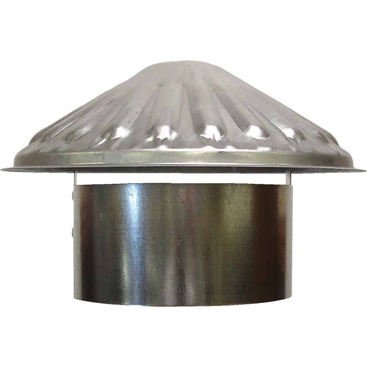 S & K Galvanized Steel 5 In. x 9-1/2 In. Vent Pipe Cap Image 1