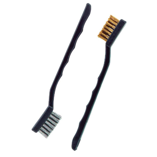 Do it Best Brass & Stainless Steel Bristle Utility Brushes (2-Pack)