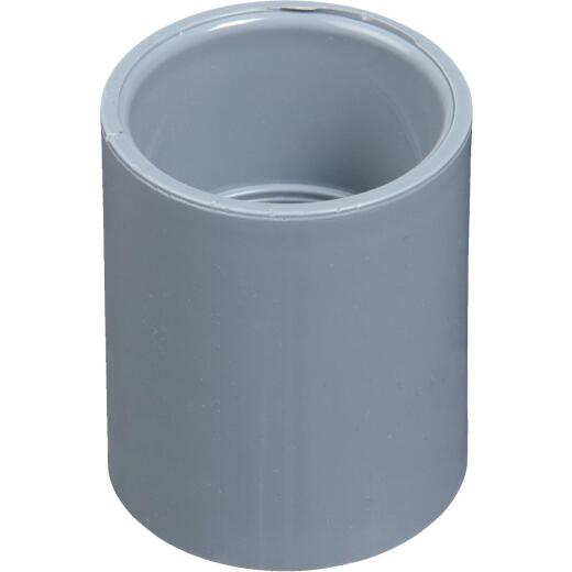 Carlon PVC 2-1/2 In. Socket Conduit Coupling