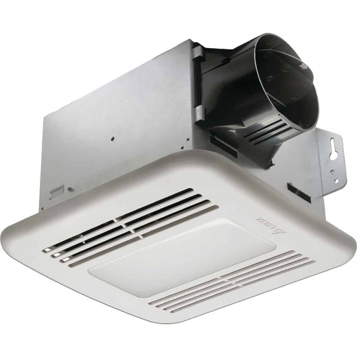 Delta BreezGreenBuilder 100 CFM 1.5 Sone 100 CFM 120V Bath Exhaust Fan with Dimmable LED