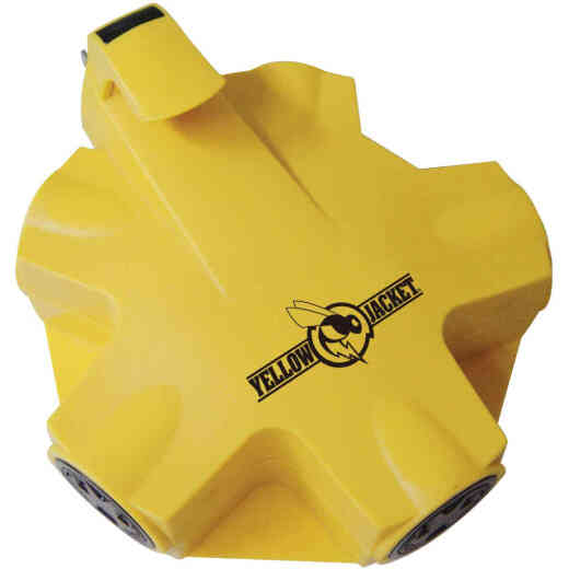Yellow Jacket Yellow 15A 5-Outlet Outdoor Tap