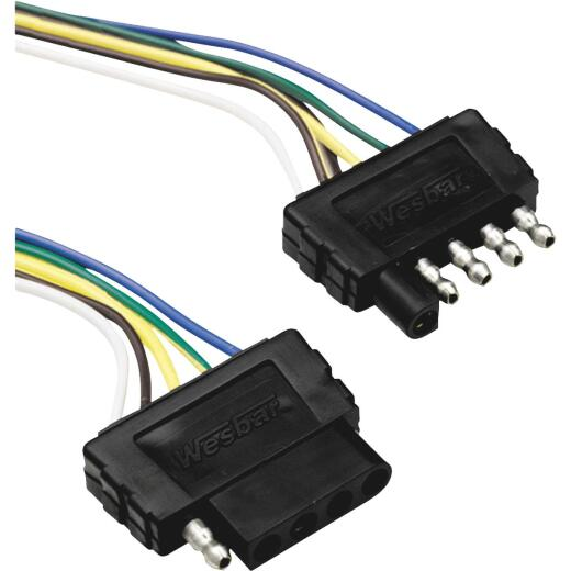 Reese Towpower 5-Flat 60 In. Loop Vehicle/Trailer Connector Set