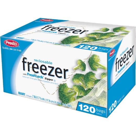 Presto 1 Qt. Reclosable Freezer Bag (120 Count)