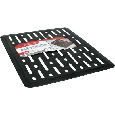 Rubbermaid 10.7 In. x 12.7 In. Black Sink Mat