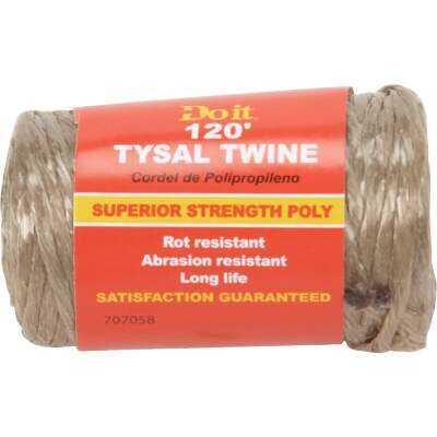 Do it 5/64 In. x 120 Ft. Brown Polypropylene Tysal Twine