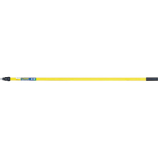 Premier 6 Ft. To 12 Ft. Telescoping Fiberglass & Stainless Steel External Twist Extension Pole