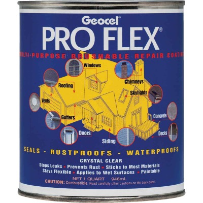 Geocel Pro Flex 1 Qt. Multi-Purpose Brushable Sealant