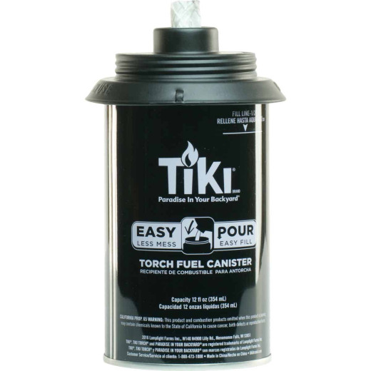Tiki Easy Pour 12 Oz. Metal Torch Fuel Canister